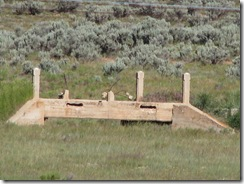 1710 Old Lincoln Bridge from Wasatach Road West of Evanston Wy