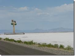 1941 Karl Momen's Tree of Utah abstract sculpture west of Knolls UT