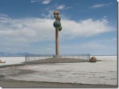 1943 Karl Momen's Tree of Utah abstract sculpture west of Knolls UT