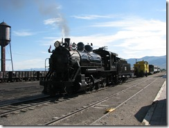 2092 Steam Locomotive Engine # 93 Nevada Northern Railway East Ely Yard Ely NV