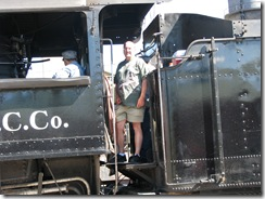 2108 Steam Locomotive Engine # 93 Nevada Northern Railway East Ely Yard Ely NV
