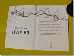 2537 Highway 50 Survival Guide & Passport