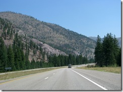 5233 View from I-90 between St Regis & Missoula MT