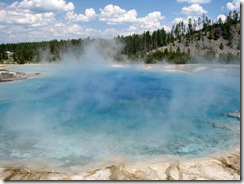 5598 Midway Geyser Basin Excelsior Geyser Crater Yellowstone National Park