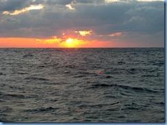 7473 Sunset from Promenade Deck Celebrity Mercury
