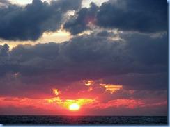 7478 Sunset from Promenade Deck Celebrity Mercury