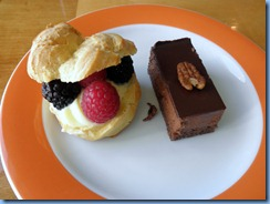 8141m Berries in Choux & Chocolate Truffle Celebrity Mercury  Basseterre St Kitts