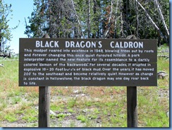 9208 Black Dragons Caldron Mud Volcano Area YNP WY