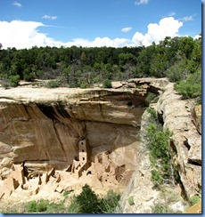 5851 Mesa Verde National Park Square Tower House Overlook CO Stitch
