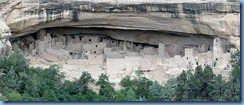 5924 Mesa Verde National Park Cliff Palace View Camera Point CO Stitch