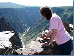 6087  Black Canyon of the Gunnison National Park South Rim Rd Pulpit Rock Overlook CO