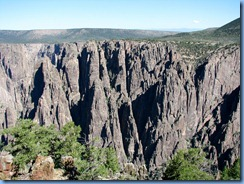 6064 Black Canyon of the Gunnison National Park South Rim Rd Gunnison Point Overlook CO