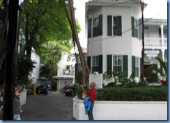 7318 Key West FL - Conch Tour Train - Harry S. Truman Little White House