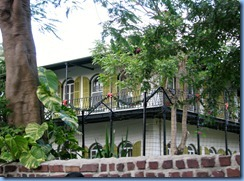 7333 Key West FL - Conch Tour Train - Ernest Hemingway House