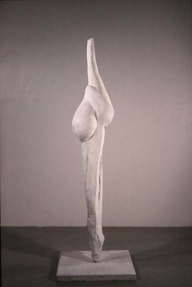 Erin Curry art- Bone Mother plaster sculpture