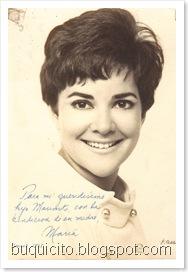María Aux. Vallejo en fotografía dedicada a su hijo Maximito