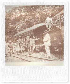 Ferrocarril ,La Vega-Sánchez, 1924