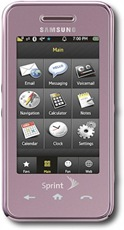 Samsung Instinct rosa