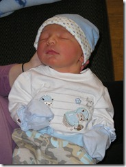 Nathan leaving the hospital 4-4-09