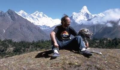 Seth Sicroff, Nepal, and Namche, Irish Wolfhound