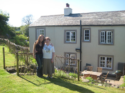 Me and Mum at Marlowe Cottage, Lake District