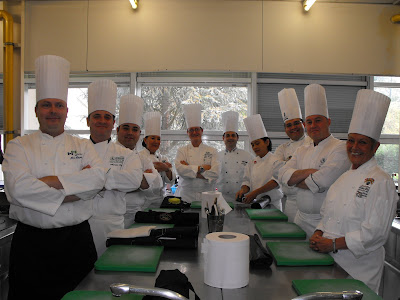 Chef Marcelle Bienvenu attends an Alliance Chef Instructor Master Class