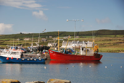 boats, Portmagee. From Driving Ireland's Ring of Kerry: Take a Detour