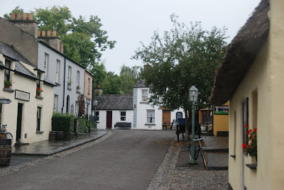 Bunratty folk park street scene
