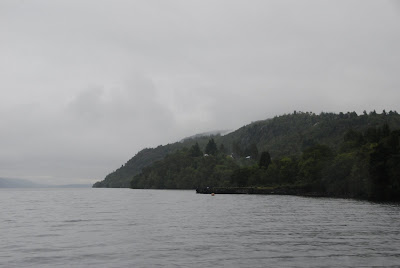 Loch Ness on a rainy day