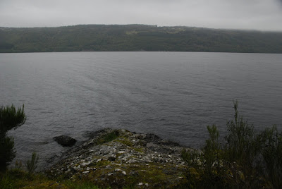 Stone beach, Loch Ness