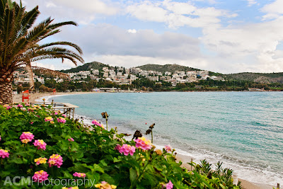 Vouliagmeni, Greece, near Athens stole my heart during a recent visit.