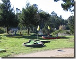 Mini Golf at KOA Santa Cruz