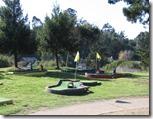 Mini Golf at KOA Santa Cruz