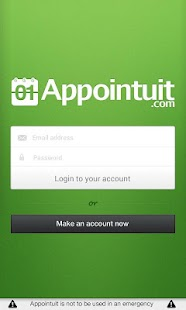 Appointuit screenshot for Android