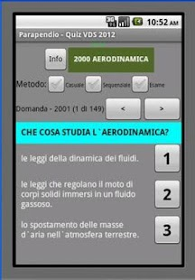 Parapendio Quiz VDS - screenshot