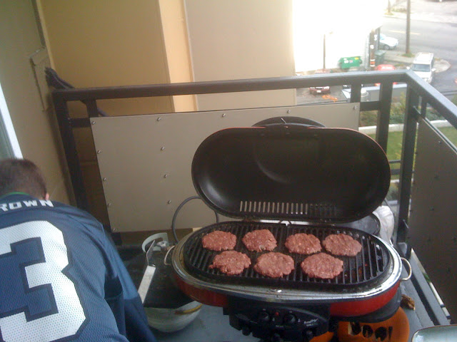 Mmm... Buffalo burgers