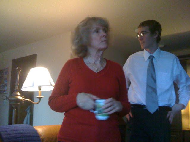 Bestemor and Josh Gross