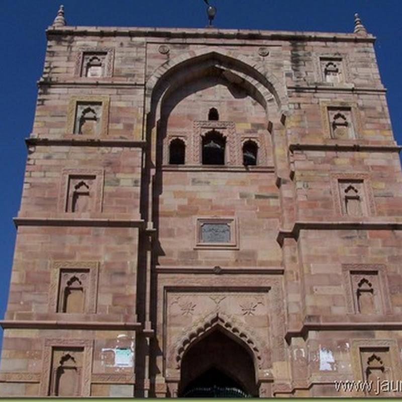 चलिए आज महर्षि यमदग्नि की तपोस्थली जौनपुर की बड़ी मस्जिद की सैर करते हैं |