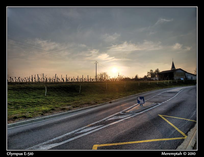route de Bourrouillan