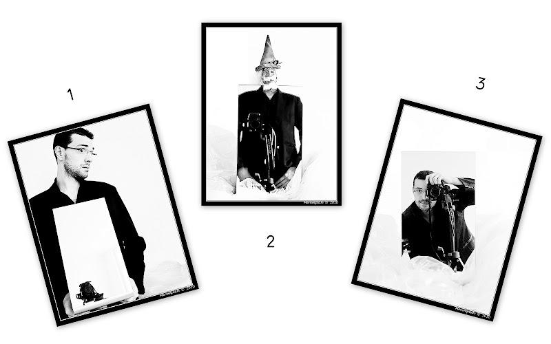 Autoportraits Autoportrait Noir et Blanc Miroir