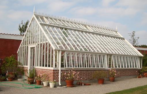 Drømmen om et drivhus - Claus Dalby - mit haveliv