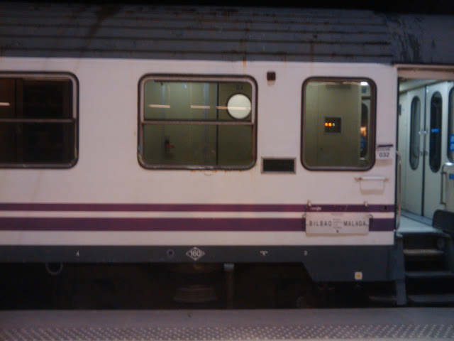 Tren litera Bilbao Málaga
