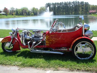 T-Bucket Harley Trike