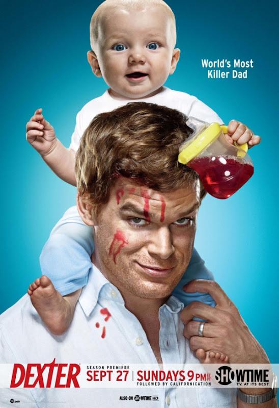 DEXTER Season 4 Poster Dexter 4ª Temporada Legendado e Dublado RMVB + AVI