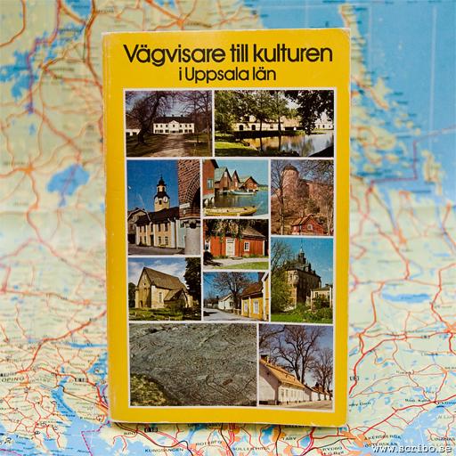 Bild på boken Vägvisare till kulturen i Uppsala län