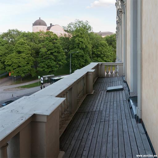 balkongen på Carolina Rediviva