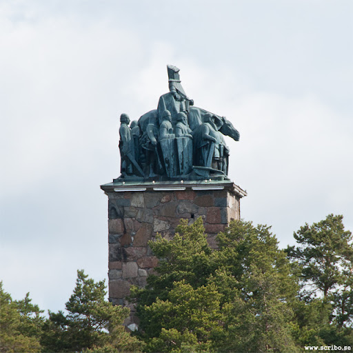 Sten Sturemonumentet uppe på Kronåsen