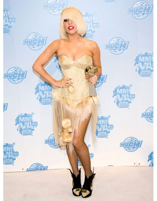 Lady Gaga attends the press room at the 20th Annual MuchMusic V