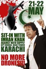 PTI-ProtestAgainstDrones