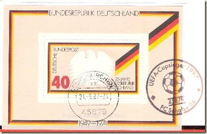 Germany-UefaCup1996-97-Schalke04 Postmark
